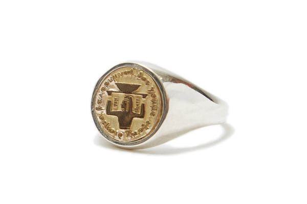 "bal ""EXOTIC DISHES SIGNET RING"""