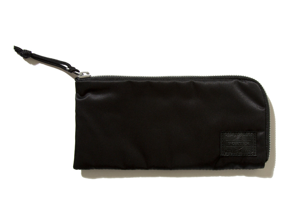 "bal ""BAL/PORTER® FLGHT NYLON THIN WALLET(L)"" (Black)"