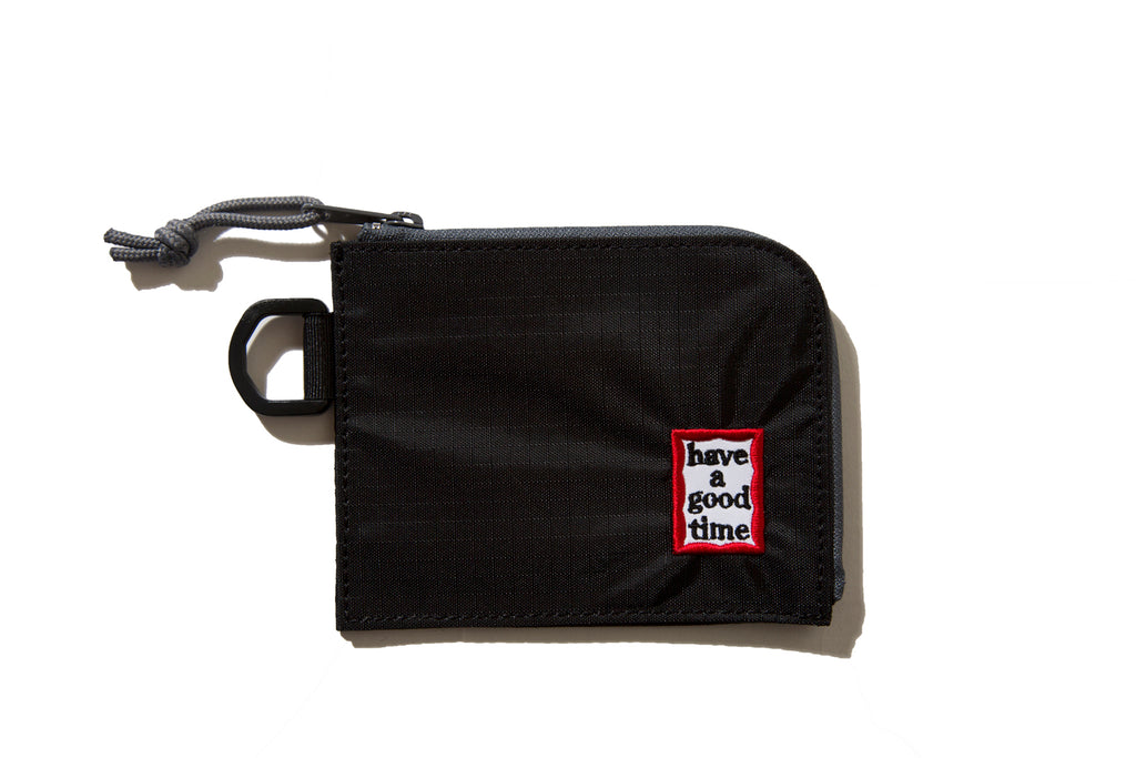 "have a good time ""FRAME WALLET"" (Black)"