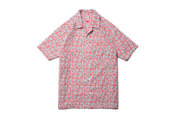 "have a good time ""ALL FRAME PATTERN ALOHA S/S SHIRT"""