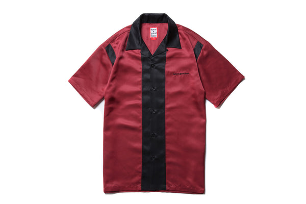 "have a good time ""BOWLING S/S SHIRT"" (Burgundy)"