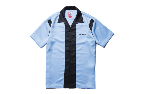"have a good time ""BOWLING S/S SHIRT"" (Blue)"
