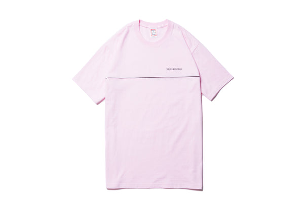 "have a good time ""PIPING S/S TEE"" (Pink)"