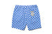 "have a good time ""CHECKER BORDER EASY SHORTS"" (Blue)"