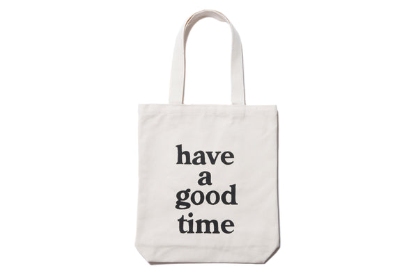 "have a good time ""LOGO TOTE BAG"" (Natural)"
