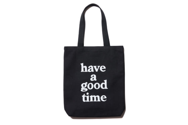 "have a good time ""LOGO TOTE BAG"" (Black)"