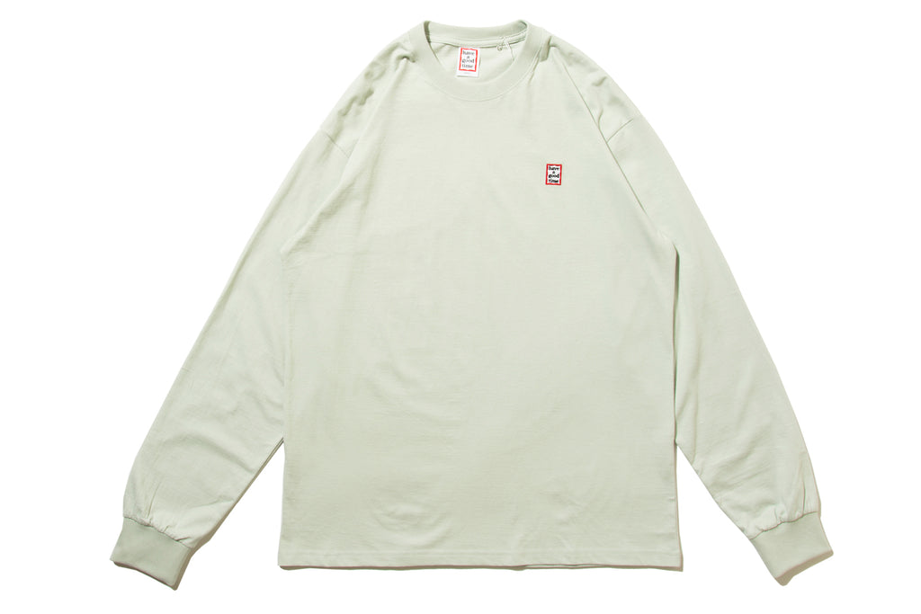 "have a good time ""MINI MINI FRAME L/S TEE"" (Grey)"