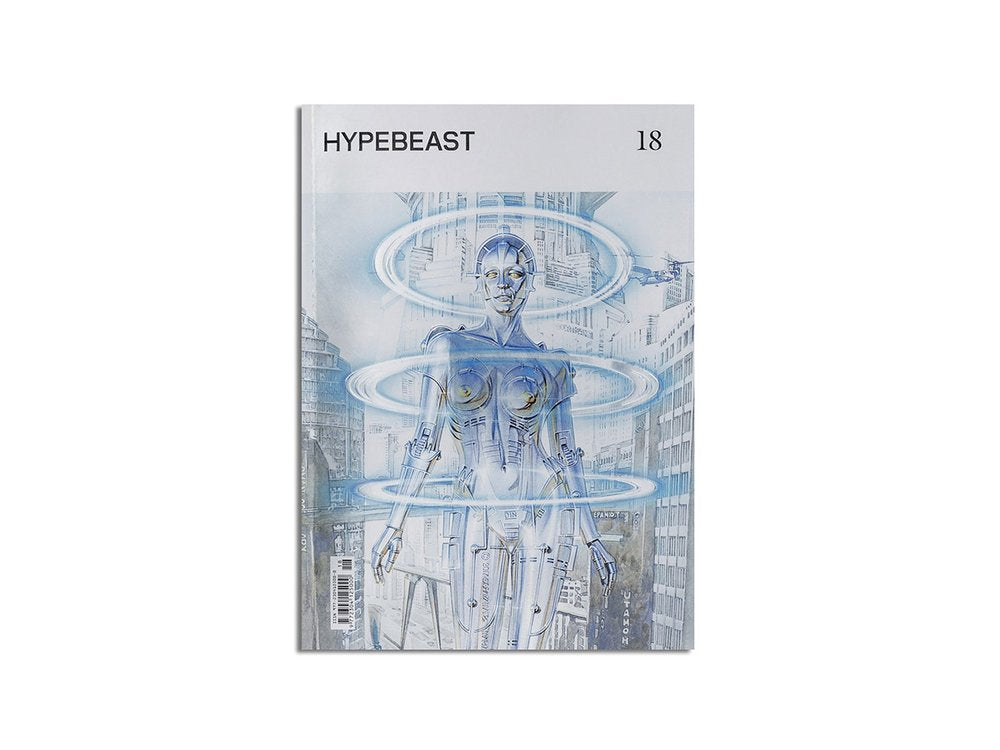"HYPEBEAST MAGAZINE ""ISSUE 18: THE SENSORY ISSUE"""