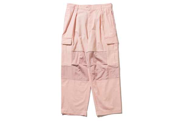 "REMIX ""BDU PANTS""(Pink)"