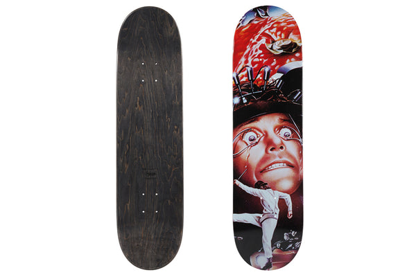 "Sync. x A CLOCKWORK ORANGE ""SKATEBOARD DECK POSTER"""