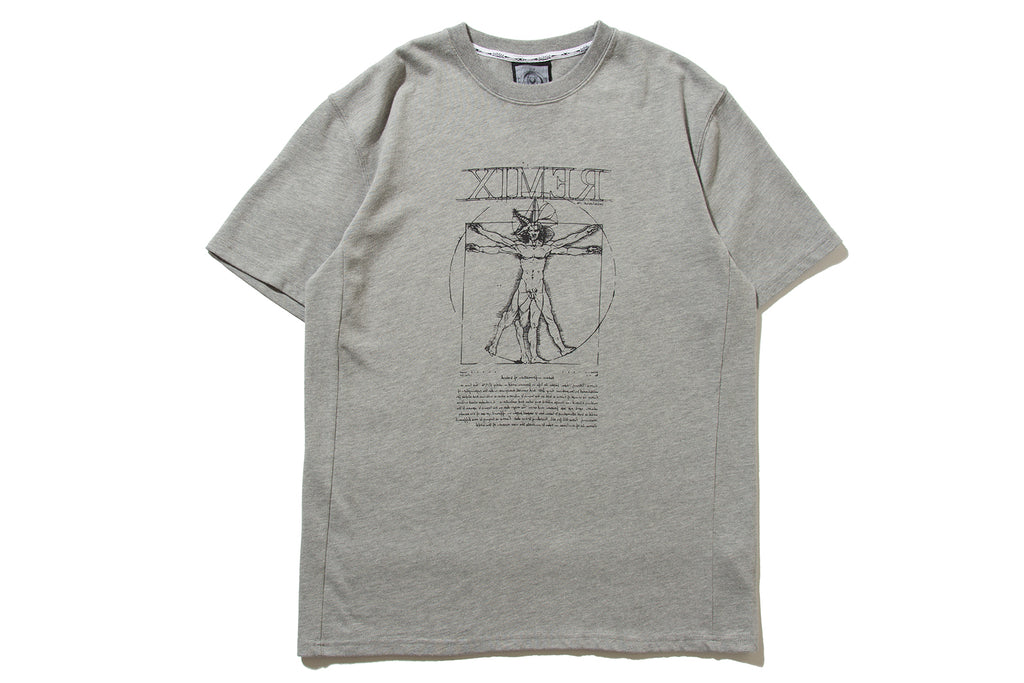 "REMIX ""VITRUVIAN TEE"" (Grey)"