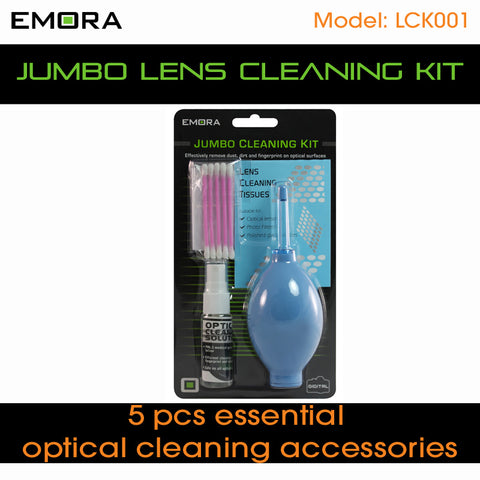 Emora Jumbo Optical Cleaning Kit
