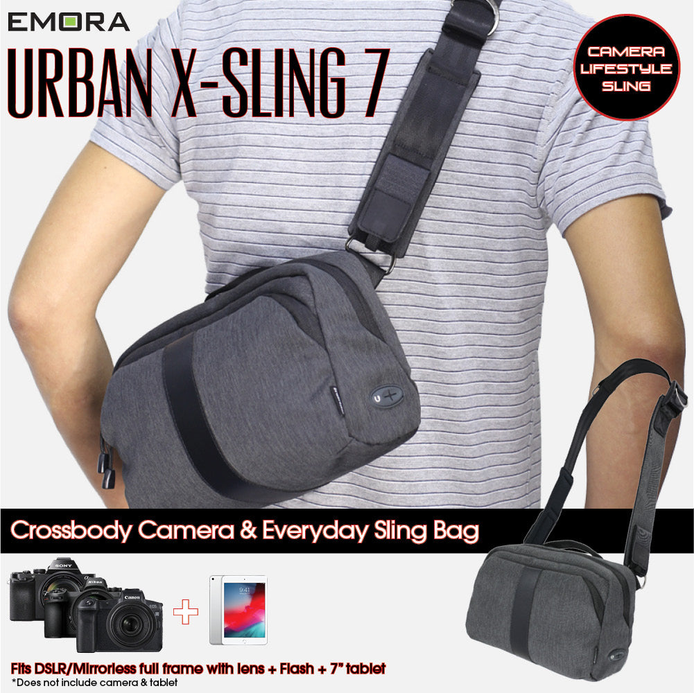Emora Convertible Camera and Everyday Sling Bag