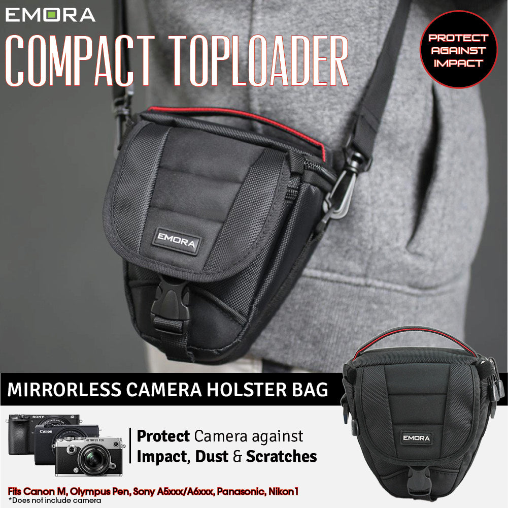 Emora Topload Ultra Protection Camera Holster Bag