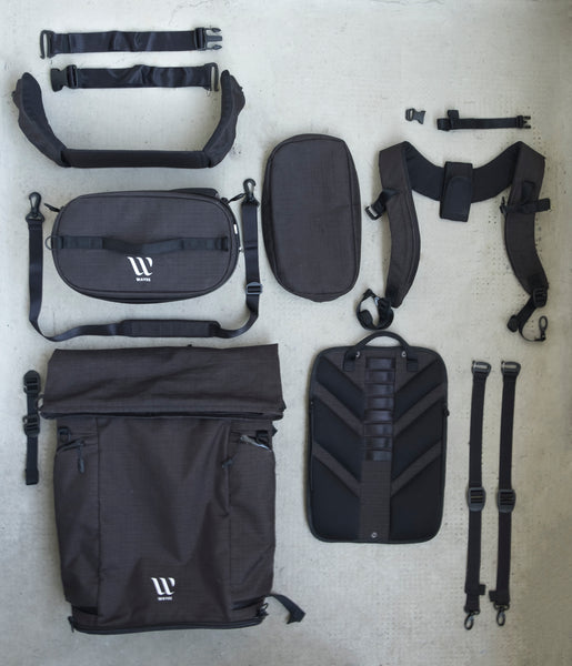 WAYKS ONE Backpack modular parts