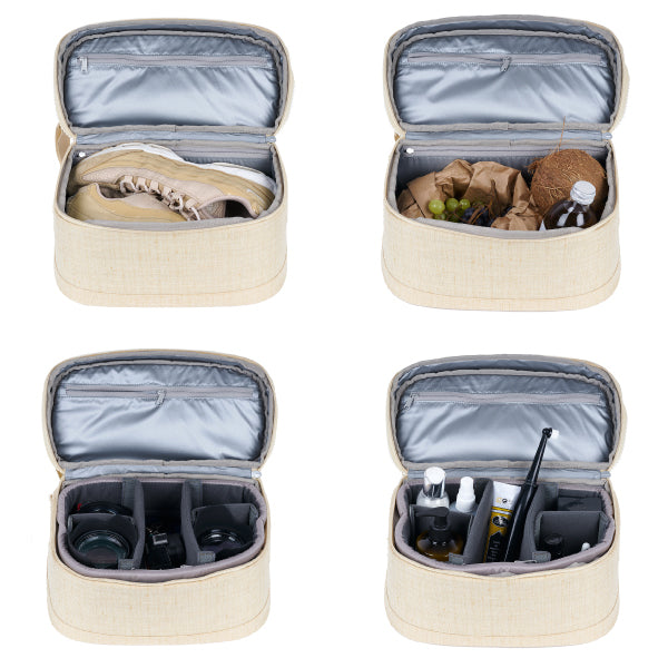 WAYKS ONE Cube Camera Cooler Toiletry Bag