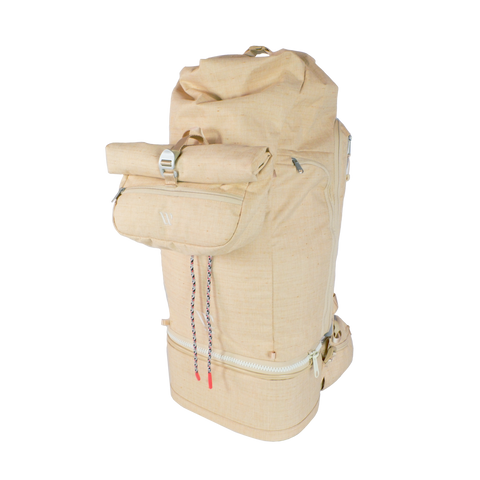 Wayks Travel Backpack with Sling attached