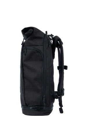 WAYKS Day Pack Black Side View