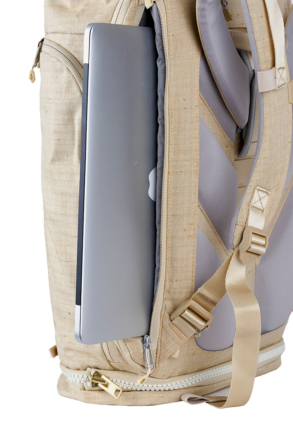 WAYKS Day Pack Sand Laptop Side Access