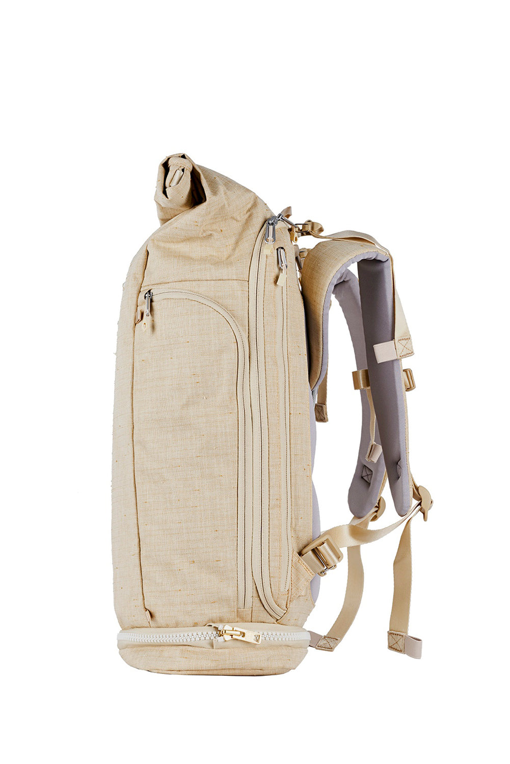 WAYKS Day Pack Sand Side View