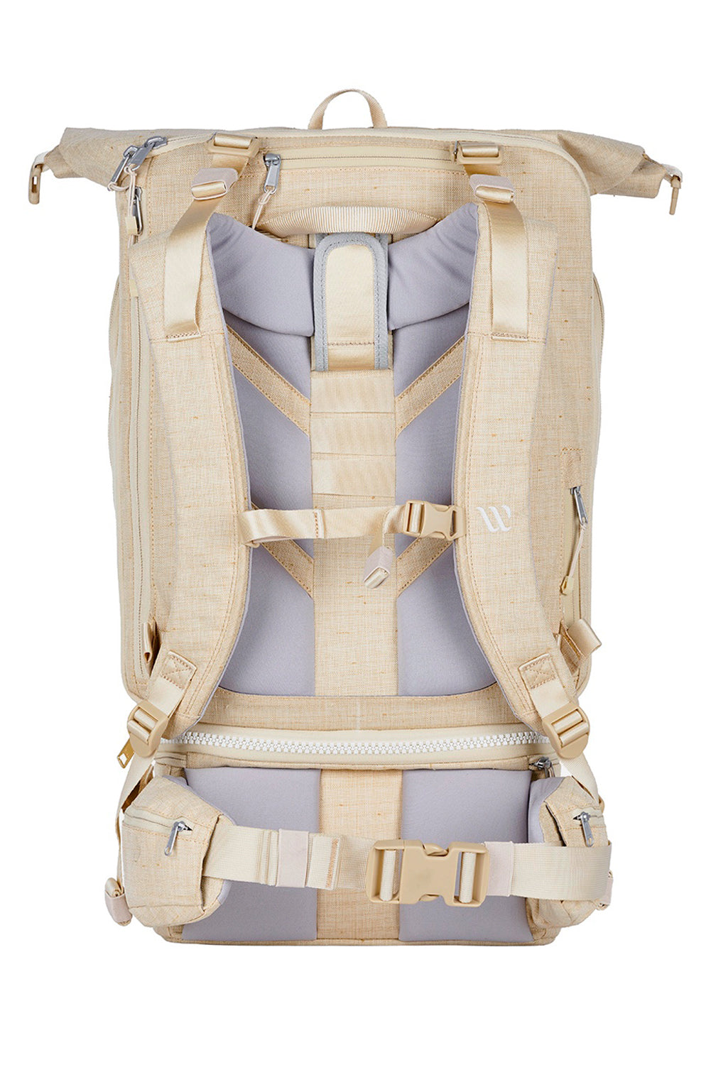 WAYKS Travel Backpack Sand Back