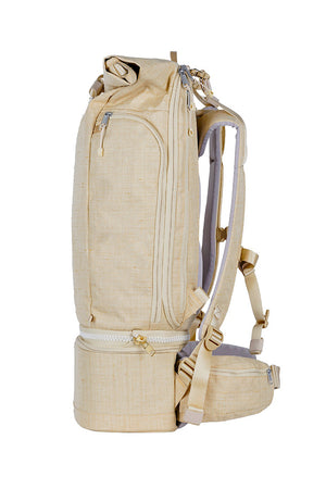 WAYKS Travel Backpack Sand Side View