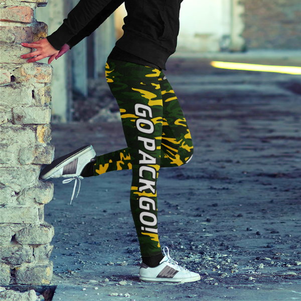 Green Bay Go Pack Go Leggings