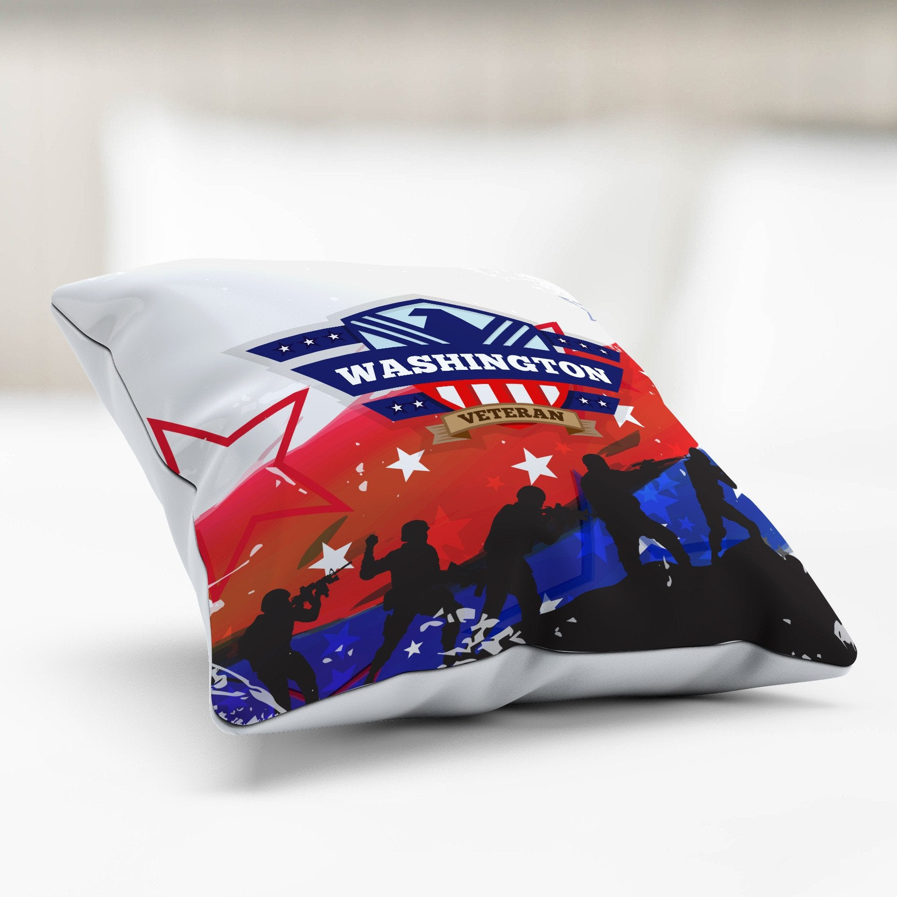 WA Veteran Pillowcase