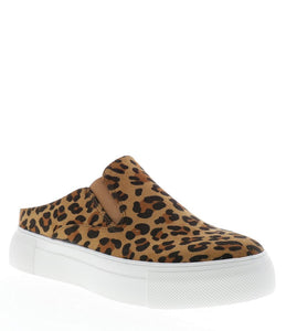 Volatile Morena Leopard Printed Slip-On Sneakers