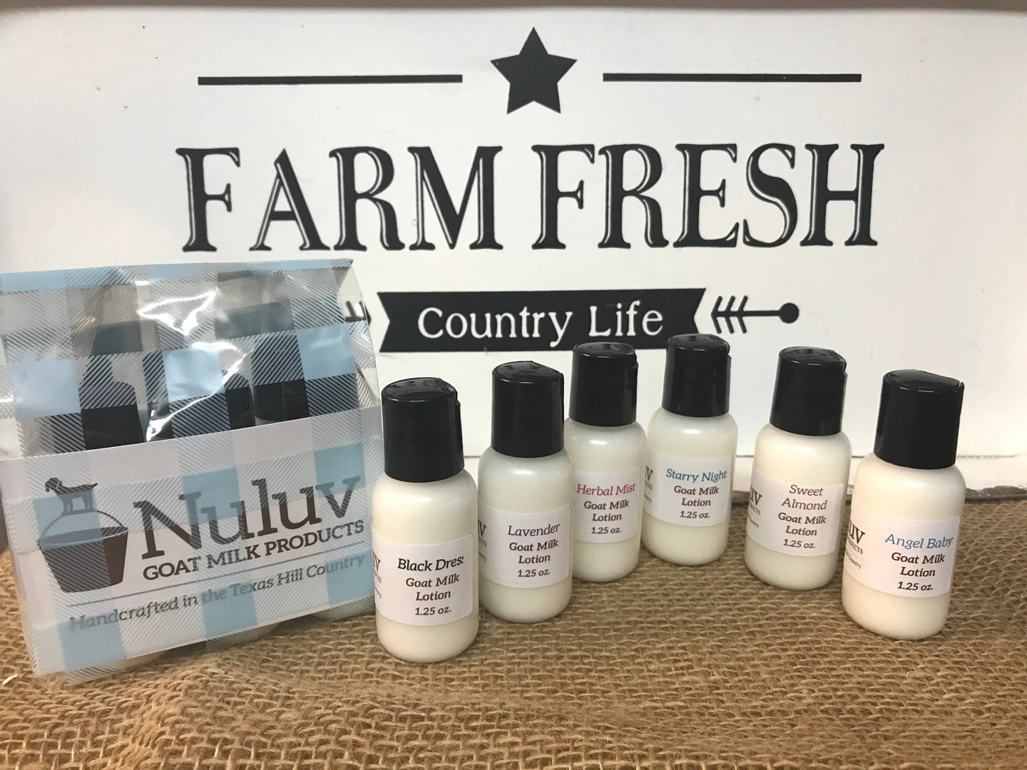 Goat Milk Lotion Variety Pack - Nuluv