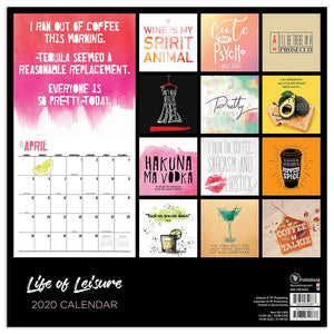 Life of Leisure Calendar