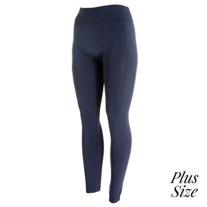 One Size & Plus Size Lightweight Leggings