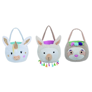 Fabric Animal Basket