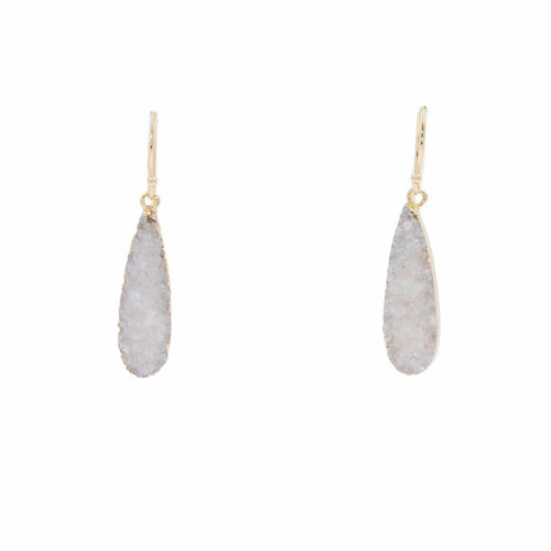 DRUZY COLLECTION - ICE DROP EARRINGS