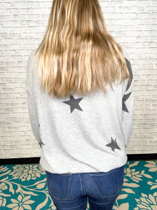 Star Print Cashmere Sweater
