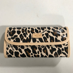 Mona Brown Leopard Go-To Clutch - Consuela