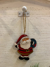 Plywood Santa Ornaments