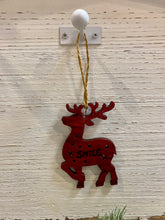 Plywood Reindeer Ornaments