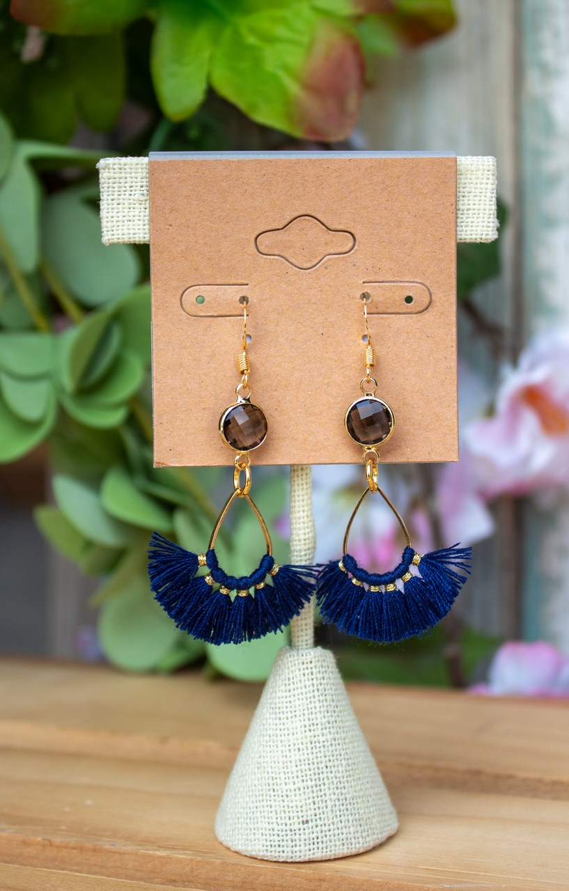 Adalea Mini Tassel Earrings