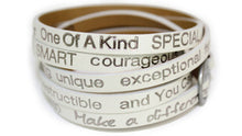 Peaceful You are Beautiful Wrap Around Bracelet - Good Works
