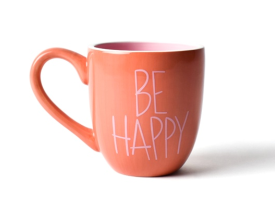 Persimmon Be Happy Mug - Happy Everything