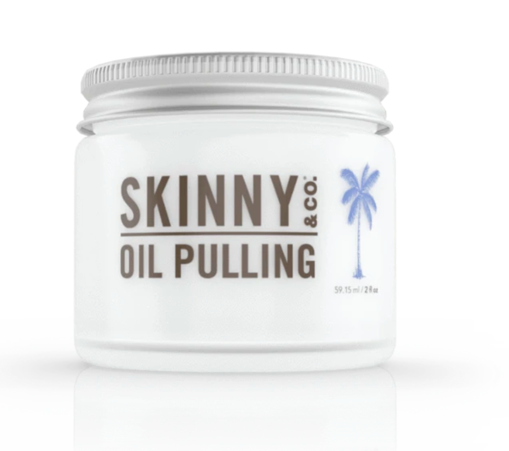 Peppermint Oil Pulling Coconut Oil - 2oz
