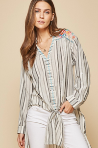 Live In Stripes Top