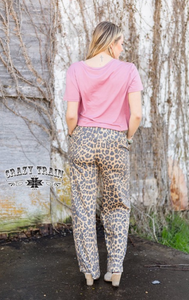 THE CASUAL LEOPARD PANT - Crazy Train Clothing