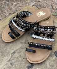 Boho Camel Threads Sandals