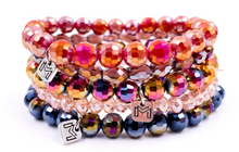 Set of 5 Sparkly Beaded Bracelets - Mix Mercantile Designs