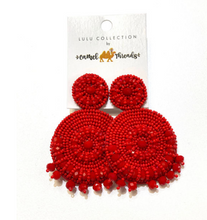 Large Beaded Earrings