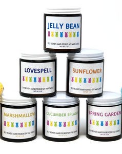 Oily Blends Easter Candles
