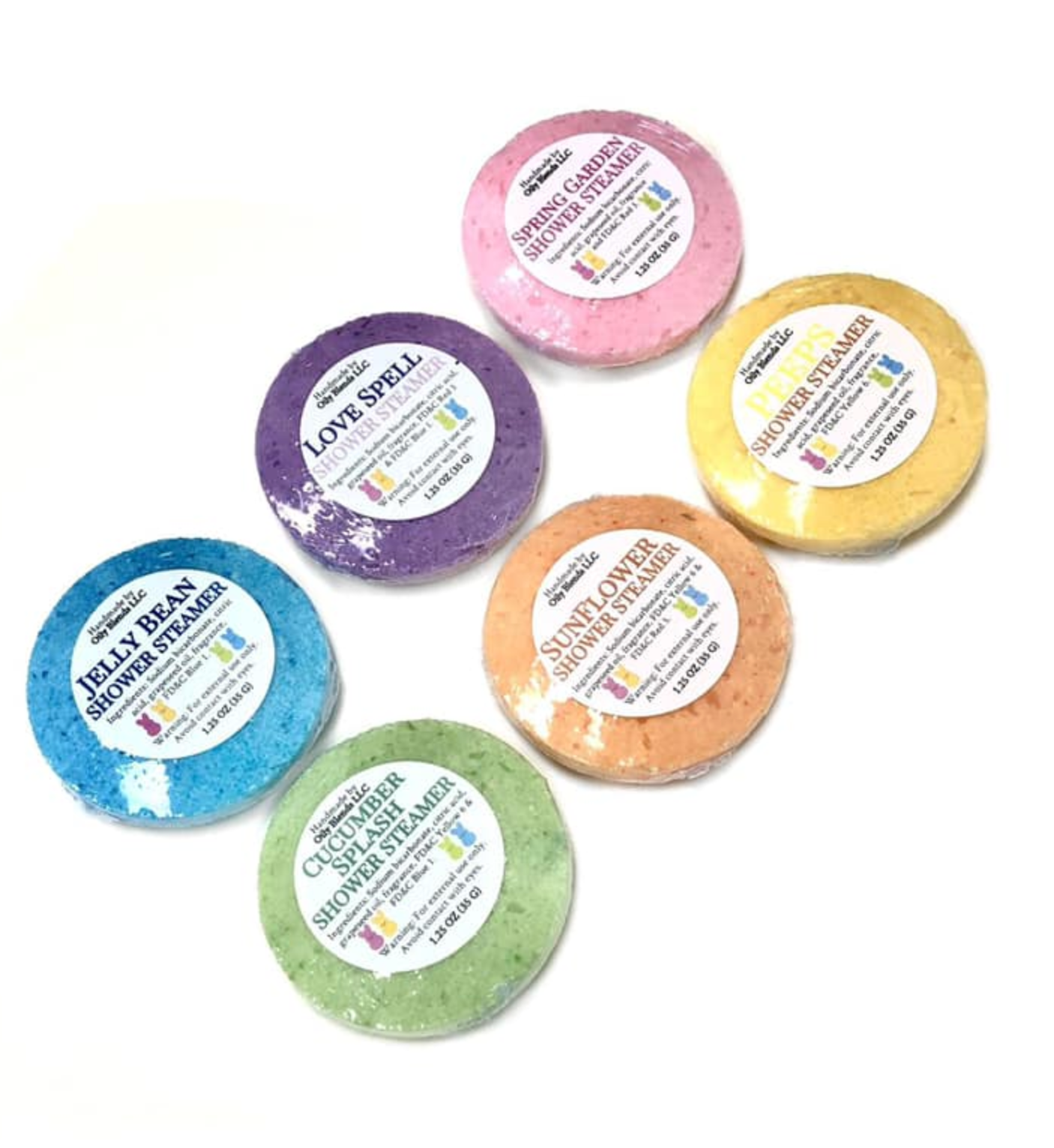 Oily Blends Shower Steamers