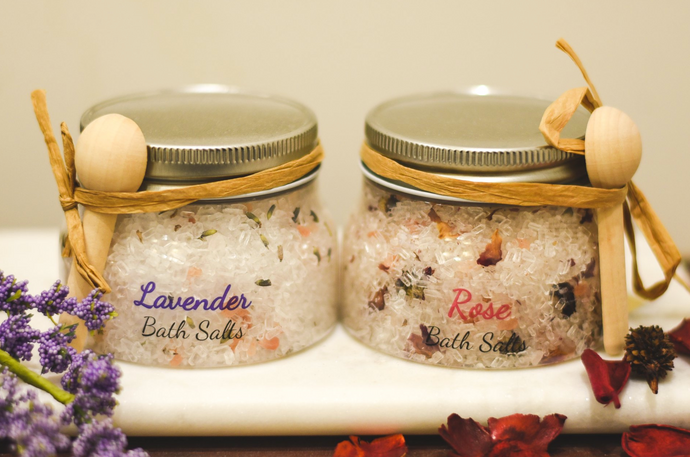 Oily Blends Spa Salts